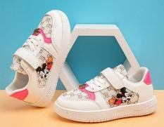 Giày thể thao cho bé gái từ 3 đến 14 tuổi in hình Micky T0027