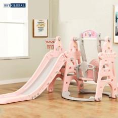 Cầu trượt xích đu máng dài 180cm BBT Global BSL310 – cầu trượt, đồ chơi trẻ em, do choi tre em