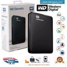 Ổ CỨNG DI ĐỘNG WD ELEMENTS 250GB 320GB- 500GB- 1TB -BẢO HÀNH 24 THÁNG- TẶNG TÚI CHỐNG SỐC.