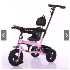 Xe đạp 3 bánh có tay đẩy để chân gối đầu 306-(180-3)