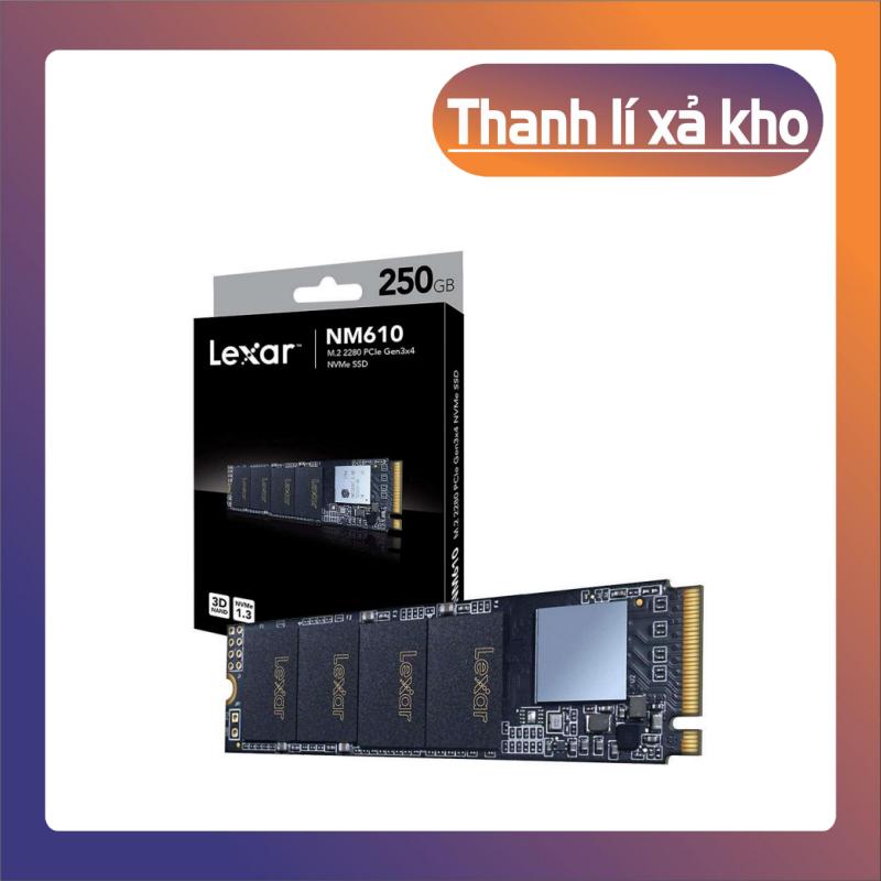 [Giá Sốc] SSD Lexar NM610 M.2 PCIe Gen3 x4 NVMe 250GB LNM610-250RB – Hàng Chính Hãng