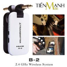 Bộ Thu Phát Tín Hiệu Không Dây Nux Wireless B-2 (Dùng cho Đàn Guitar Và Mọi loại Nhạc Cụ khác – Pin sạc – Relay B2 Digital System Rechargeable Transmitter Receiver 2.4GHZ)