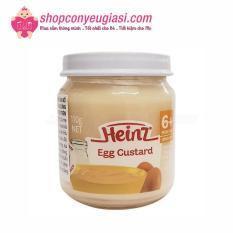 [HCM]Dinh Dưỡng Đóng Lọ Heinz Custard Sữa Trứng 110g Cho Bé 6 Tháng Trở Lên