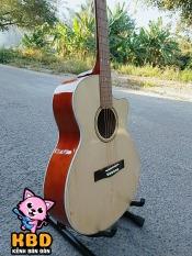 Đàn guitar Acoustic KBD giá rẻ bấm nhẹ không đau tay + Tặng bộ full phụ kiện – Bảo hành 1 năm miễn phí