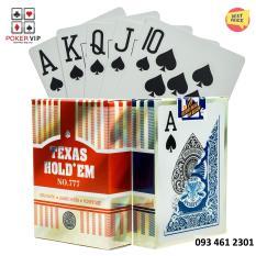 [Sỉ và lẻ] Bài nhựa Texas Hold'em 777 100% plastic – Bài tây – Bài poker