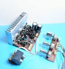 Mạch khếch đại 3 kênh + âm sắc (tháo máy). AL.110