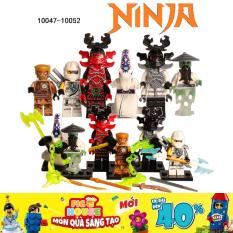 Combo 6 Minifigures Nhân Vật Ninjago – Đồ Chơi Lắp Ráp 10047-10052