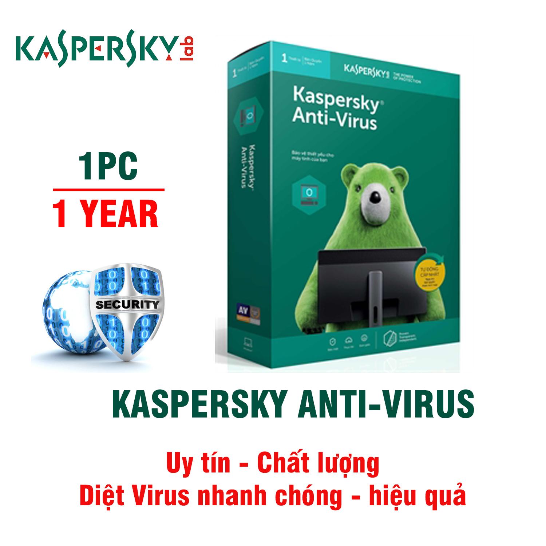 Phần mềm diệt virus Kaspersky Anti virus 1PC BH 1Năm giá rẻ ...