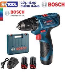 Hàng Chính Hãng Máy khoan vặn vít Bosch GSR 120-LI GEN II + Phụ Kiện