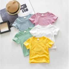 Áo phông cộc tay cho bé vải cotton QATE54