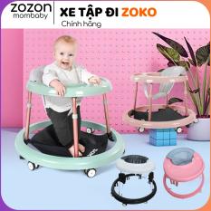 Xe tập đi cho bé Zoko chống chân đi vòng kiềng chữ O, chống lật đa năng, trẻ từ 8-18 tháng, nhựa PP an toàn Zozon phân phối
