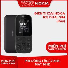 Điện thoại Nokia 105 Dual sim – Màu Đen