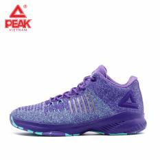 Giày bóng rổ PEAK Basketball Ultra Light Knit E92071A – Tím