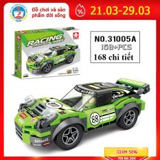 Bộ đồ chơi xếp hình Lego ô tô 31005A phát triển tư duy cho bé, cả nhà có thể cùng chơi và lắp ráp gồm 180 chi tiết
