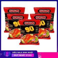 Combo 5 gói mì Kokomi 90 tôm chua cay 90g/1gói