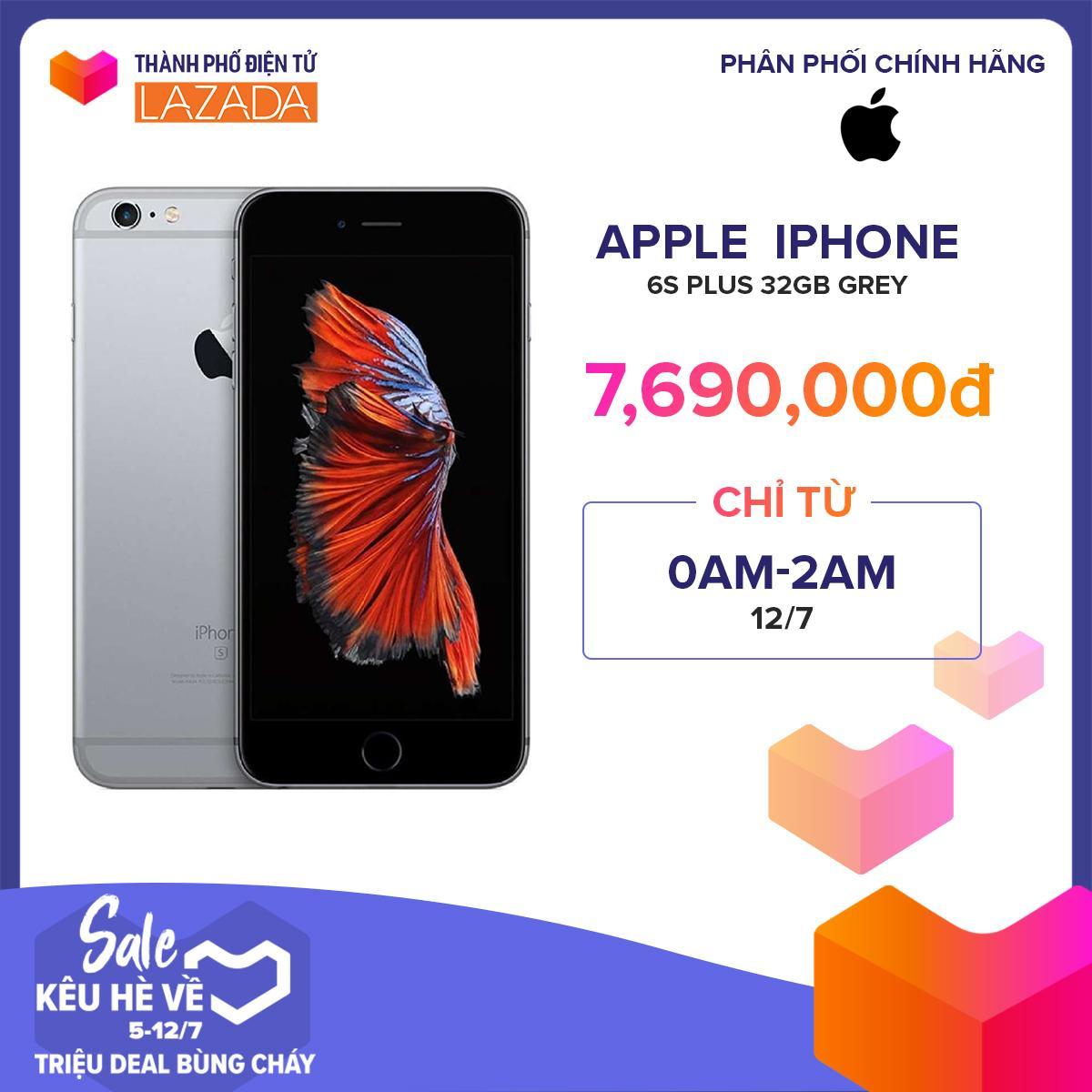Điện thoại Apple iPhone 6s Plus 32GB - Hàng Chính Hãng Mã VN/A
