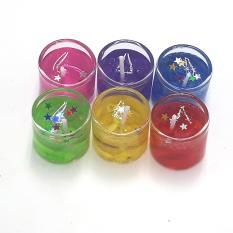 Bộ 6 nến sáp, đèn cầy sinh nhật, nến tạo hình (sku 278-001)