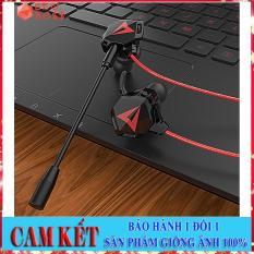 Tai Nghe Gaming G901 Có Mic Jack 3.5mm (Dây đỏ) Tai nghe gaming có micro;tai nghe nhét tai có dây;tai nghe jack 3.5mm;tai nghe có dây;tai nghe không dây;tai nghe chụp tai gaming;tai nghe gaming cho điện thoại;tai nghe gaming bluetooth Eco Boss