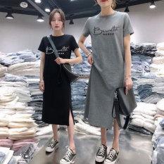 Đầm suông ngắn tay
