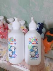 Sữa tắm gội sữa dê hữu cơ Goat Kids Organic cho bé từ 0m+ 300ml