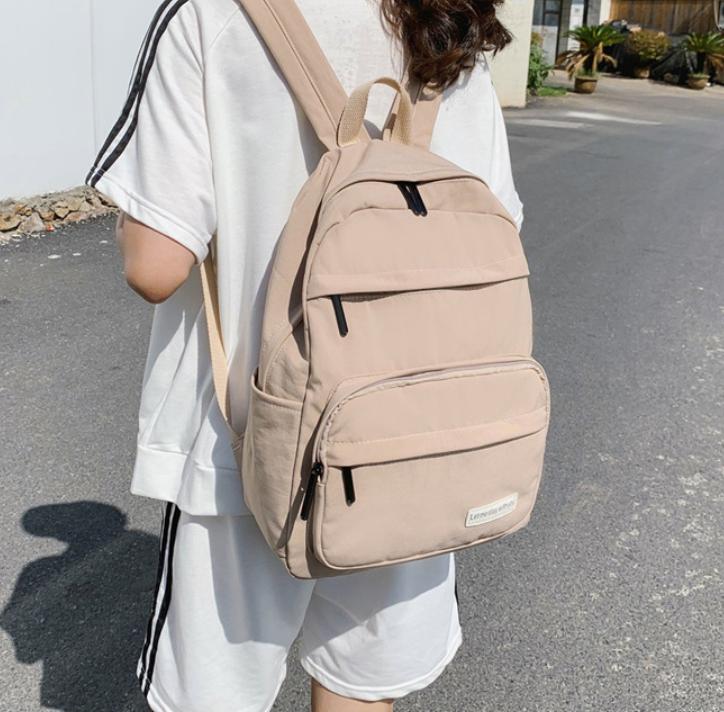 Balo unisex thời trang teen – Chống nước, kèm ngăn sau rộng – để laptop tiện lợi, đẹp rẻ