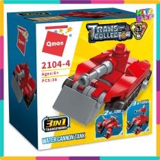 Bộ Đồ Chơi Xếp Hình Thông Minh Lego Qman Biệt Đội Cứu Hỏa Biến Hình 2104 Hộp Lẻ Cho Trẻ Em