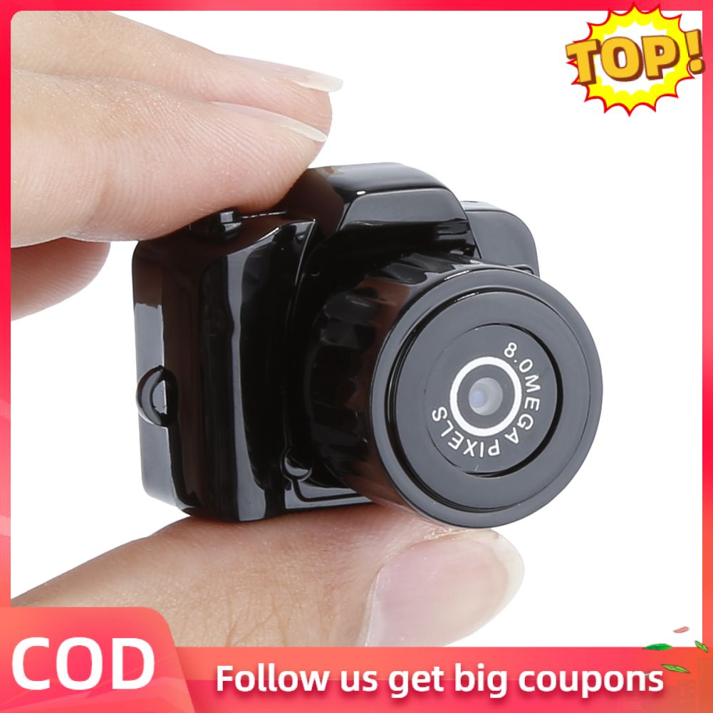Laztech máy ảnh mini 720p, camera webcam không dây chất lượng cao tiện lợi quan sát rõ ngày và đêm...