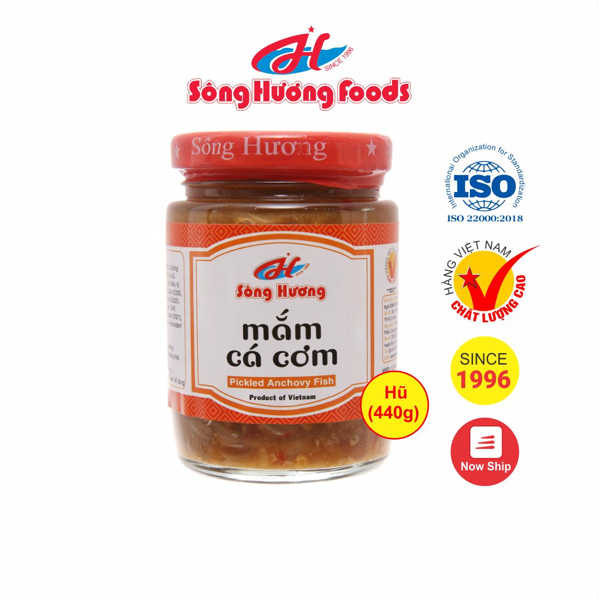 Mắm Nêm Cá Cơm Sông Hương Foods Hũ 440g