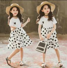 [MẪU MỚI] Váy Mickey Bèo Tầng Cho Bé Gái 8-18 Kg