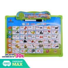 Bảng học thông minh điện tử 11 chủ đề, Bảng học chữ cái đa năng giúp bé tự phát triển toàn diện, học tập tốt, kích thích trí thông minh tưởng tượng cho bé – Guty Mart