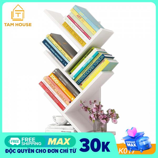 Tâm House Giá sách đứng, kệ sách đa năng – K017