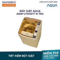 Máy giặt AQUA AQW-U700Z1T N 7kg – Công Suất 450 W (~ 119 W.h) – Phù hợp cho nhu cầu sử dụng 2 đến 3 thành viên -Hàng phân phối chính hãng