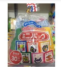 Gia vị rắc cơm Furikake nội địa Nhật cho bé ăn dặm 6 vị gồm 30 gói nhỏ