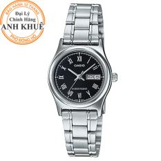Đồng hồ nữ dây kim loại Casio Anh Khuê LTP-V006D-1BUDF