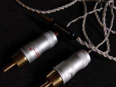Dây AV 3.5 ra AV 4 lõi bạcDây đan 4sợi 0.5mm2 lossless audio