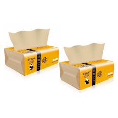 1 Gói Khăn giấy Gấu Trúc Sipiao làm từ bột tre mềm dai không chất tẩy trắng gói 300 tờ NPP Shoptido