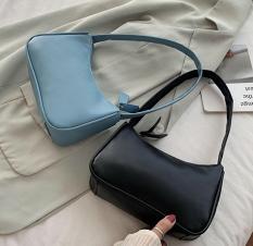 Túi đeo vai nữ, kẹp nách da mềm trơn siêu xinh TTS 433