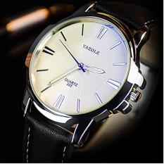 Đồng hồ nam dây da Yazole 332