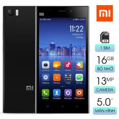 Điện thoại cảm ứng giá rẻ Xiaomi MI 3W RAM 2GB bộ nhớ 16GB màn hình IPS rộng 5.0 in độ phân giải FullHD sắc nét