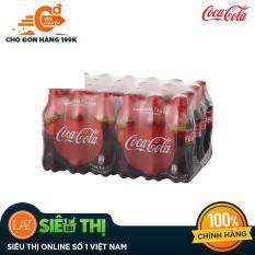[Siêu thị Lazada] – Thùng 24 Chai Nước Giải Khát Coca Cola 390ml – 5,750đ/chai