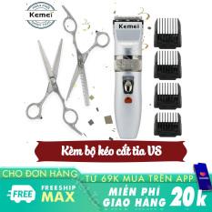 Tông đơ cắt tóc cho trẻ em và gia đình KEMEI KM-27C bảo hành 3 tháng tại Nét Ta tong do cat toc cho be tông đơ không dây sử dụng 60 phút