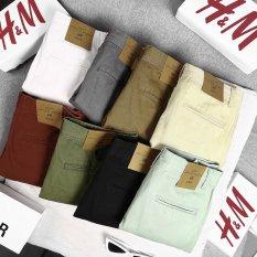 quần short kaki trơn H&M