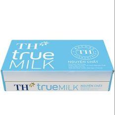 Thùng sưã tươi tiệt trùng TH true milk nguyên chất (48 hộp x110ml)