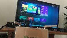 ĐẦU THU TV BOX Q9S CÓ CỔNG AV KẾT NỐI TẶNG CHUỘT QUANG
