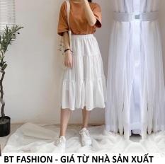 Chân Váy Dài Voan Thời Trang HOT – BT Fashion (VOAN DÀI 3T) VA1 – Có lót bên trong + Video, HÌnh Thật