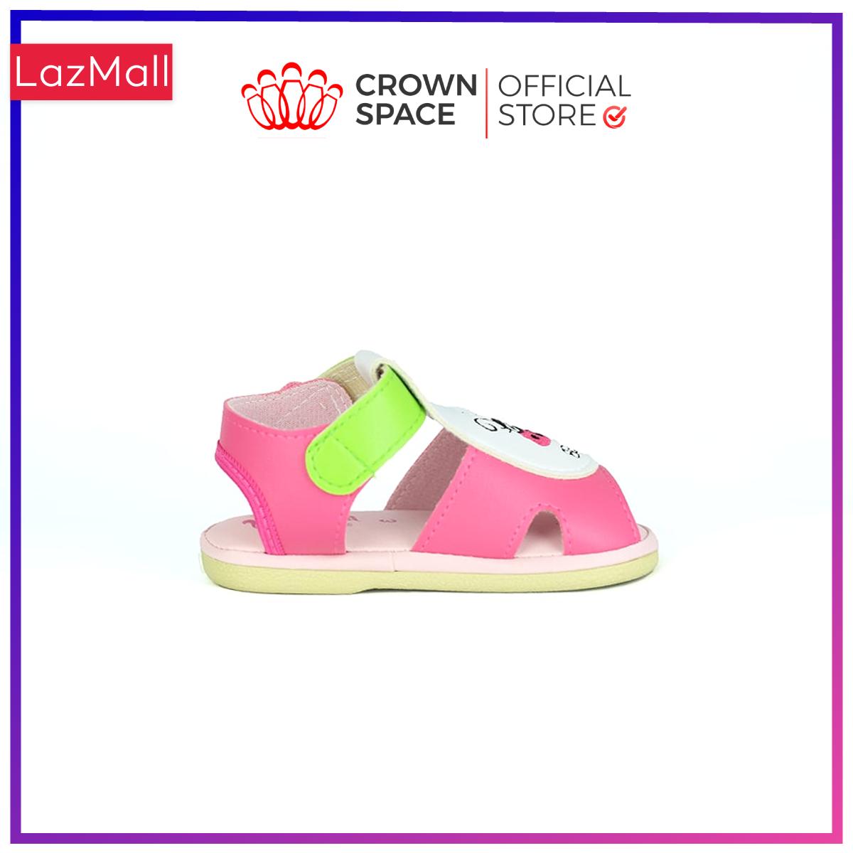 Xăng Đan Tập Đi Bé Trai Bé Gái Đẹp Crown UK Royale Baby Walking Sandals Trẻ em Cao Cấp 021484 Nhẹ Êm Size 3-6/1-3 Tuổi