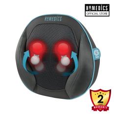 Gối massage công nghệ Shiatsu 3D và GEL kèm nhiệt và hồng ngoại, điều khiển cầm tay HoMedics SGP-1100H-EU