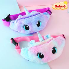 [HCM]Túi bao tử Unicorn cho bé gái bằng bông mịn màu pastel ngộ nghĩnh đáng yêu Baby-S – STX037