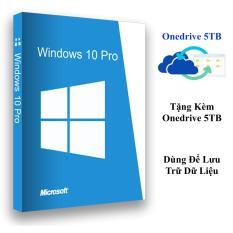 Bộ Windows 10 Pro 32/64-Bit tặng kèm Onedrive 5TB