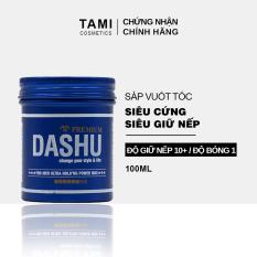 Sáp vuốt tóc nam DASHU For Men Ultra Holding Power Siêu cứng Siêu giữ nếp Không bóng bết Tự nhiên nam tính TM-SAP06
